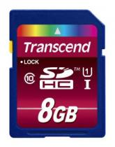 Transcend SDHC Ultimate 8GB Class 10 UHS-I