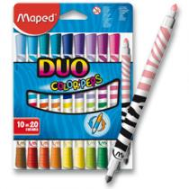 Maped Color´Peps Duo - 10 oboustranných fixů - fixy