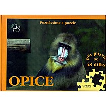 Puzzle Opice