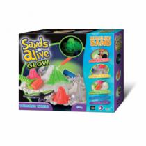 Alltoys TV Sands Alive! Glow - Set sopka
