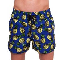 69SLAM Plavky Boardshort Pineapples Navy