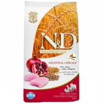 N&D Low Grain Dog Adult Mini Chicken Pomegranate 800g