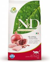 N&D Grain Free CAT Neutered Chicken&Pomegranate 5kg