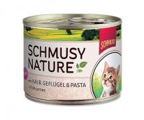 Schmusy Cat Nature Menu Junior telecí drůbeží 190g