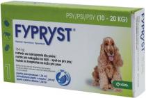 Fypryst spot-on M (pes 10-20kg) sol 1x1,34 ml