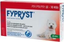 Fypryst spot-on S (pes 2-10kg) sol 1x0,67 ml