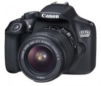 Canon EOS 1300D + 18-55 mm DC III