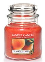 Yankee Candle vonná svíčka Orange Splash 411g