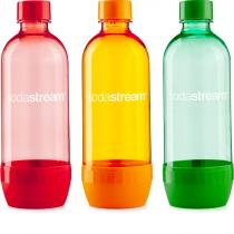 SodaStream láhev TriPack 1l GREEN/RED/ORANGE