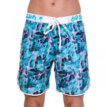 69SLAM Krátké Boardshort Medium Banana Leaf