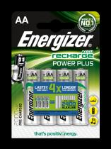 Energizer AA 2000mAh POWER PLUS, 4 ks (blistr)