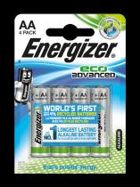 Energizer ECO Advanced AA LR6 4 ks (blistr)
