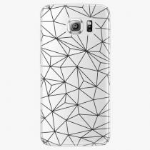 Samsung - Abstract Triangles 03 - black - Galaxy S6 Edge Plus