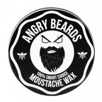 Angry Beards Vosk na vousy - Moustache Wax (50 g)