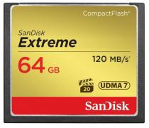 SanDisk Compact Flash Extreme 64GB 120MB/s (SDCFXSB-064G-G46)
