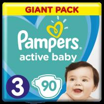 Pampers Active Baby 3 Midi Giant Pack
