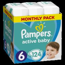 Pampers Active Baby 6 Extra Large 13 - 18 kg