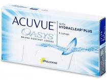 Johnson & Johnson Acuvue Oasys Plus 6 čoček