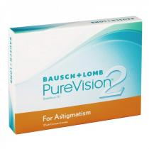 Bausch&Lomb Bausch + Lomb PureVision 2 HD for Astigmatism (3 čočky)