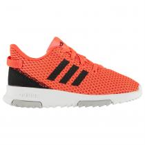 Adidas adidas Racer Infants Trainers, SolarRed/Black, 24