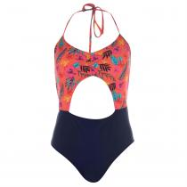 Soulcal SoulCal Peekaboo Swimsuit Ladies, Floral, XL