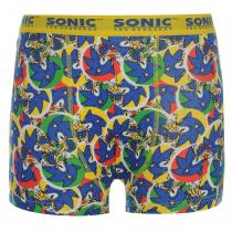Character Character Sonic Single Boxer Short Junior, Blue, 140