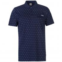 Lee Cooper Lee Cooper AOP Polo Shirt Mens, Navy AOP, M
