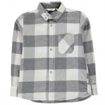 Lee Cooper Lee Cooper Soft Check Long Sleeve Shirt dětské Boys
