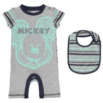 Character Character Short Sleeve Romper Set Babies, Mickey Mouse, 80