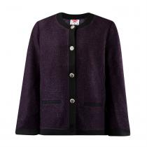 Lee Cooper Lee Cooper Cardigan Jacket Ladies, Purple, M