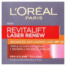 L´Oréal Paris Denní krém proti vráskám SPF 20 Revitalift Laser Renew (Advanced Anti-Ageing Care) 50 ml