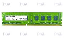 2-Power 2GB MultiSpeed 1066/1333/1600 MHz DDR3 Non-ECC DIMM 1Rx8 ( DOŽIVOTNÍ ZÁRUKA )