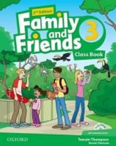 Oxford University Press Simmons Naomi: Family and Friends 2nd Edition 3 Course Book with MultiROM Pack
