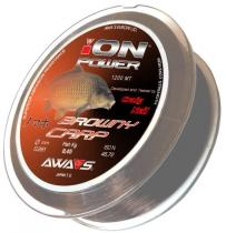 Awa-S Ion Power Browny Carp 1200m - 0,33mm
