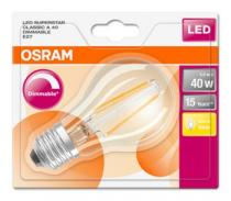 Osram LED Filament SUPERSTAR ClasA 230V 5W 827 E27 DIM