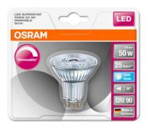 Osram LED SUPERSTAR PAR16 36° 230V 5,9W 940 GU10