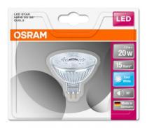 Osram LED STAR MR16 36° 230V 2,9W 840 GU5.3
