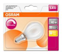 Osram LED SUPERSTAR ClasP 230V 5W 827 E14