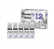 Flavourit WINGER PG30/VG70 booster 12mg 5x10ml