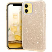 Forcell Shning Case iPhone 11 - Zlaté