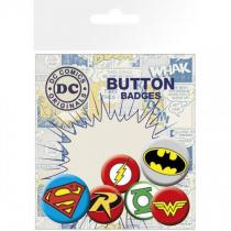 GB eye Sada placek DC Comics Logos