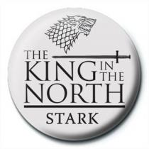 Pyramid International Placka Game of Thrones - King in the North