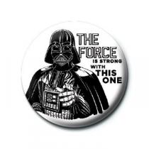 Pyramid International Placka Star Wars - The Force is Strong