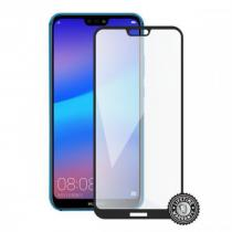 Screenshield pro HUAWEI P20 Lite Tempered Glass protection (full COVER black)