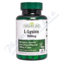 Natures aid L-Lysín (1000 mg) 60 tablet