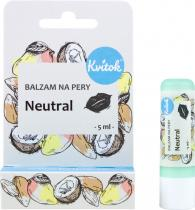Kvitok Balzám na rty Neutral 5ml