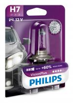 PHILIPS Vision Plus+60% 12972VPB1 H7 PX26d 12V 55W