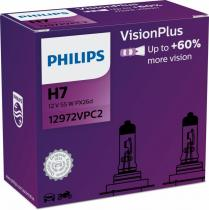 PHILIPS Vision Plus+60% 12972VPC2 H7 PX26d 12V 55W 2ks