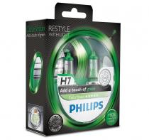 PHILIPS ColorVision Green 12972CVPGS2 H7 PX26d 12V 55W