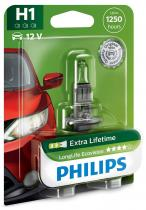PHILIPS LongLife EcoVision 12258LLECOB1 H1 P14,5s 12V 55W